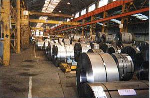 Métallurgie Application anti-corrosion Stockage bobines de métal