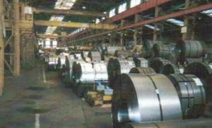 entreposage de bobines d'acier