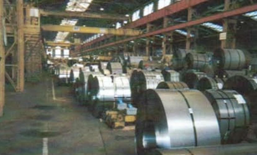 Déshumidification bobines acier