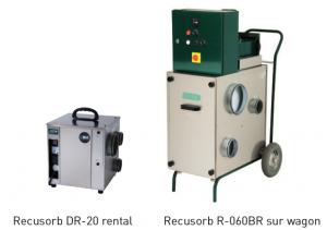 Recusorb DR-20 rental & Recusorb R-060BR sur wagon
