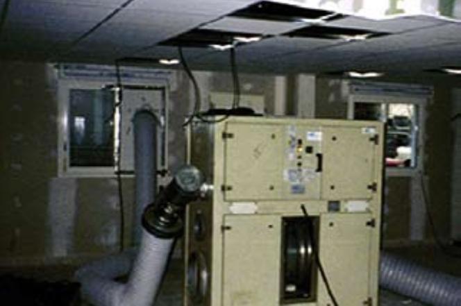 Déshydrateurs industriels séchage bâtiments