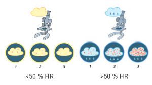 bactéries air sec