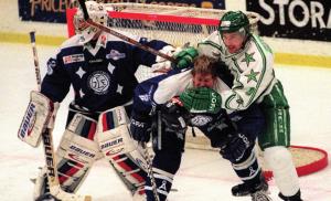 Match hockey sur glace patinoire Leksand