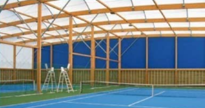 Déshumidification dans les terrains de tennis