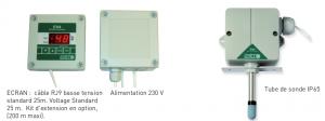 Détails de l'hygrostat électronique EH-4