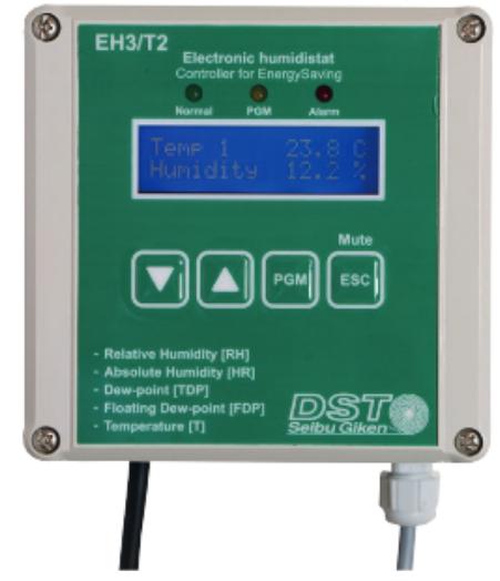Hygrostat et régulateur électronique EH3 T2