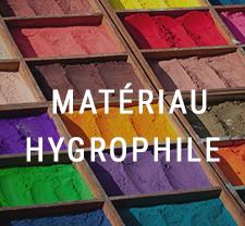 Préservation matières hydroscopiques
