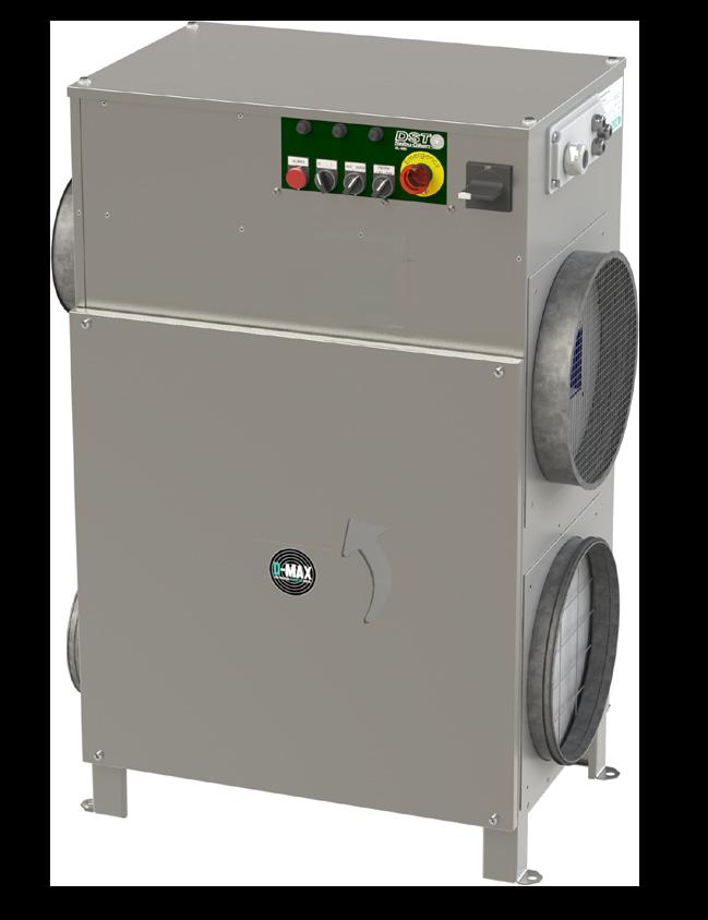Déshydrateur industriel RL-60R-60LR