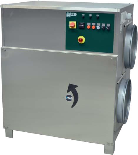 Déshumidificateur industriel RL-71R
