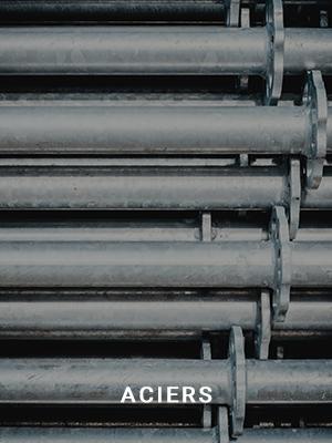 humidité industrielle acier
