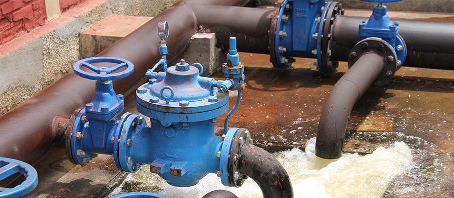 Usines de traitement d'eau