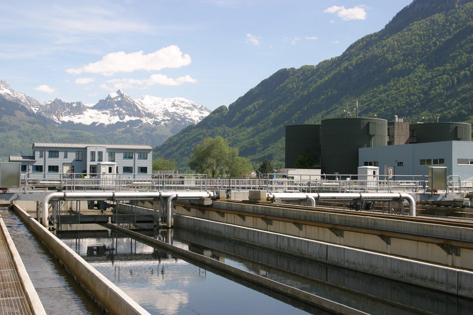 déshumidification usines traitement d'eau